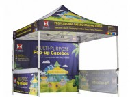 Customzied Printing Gazebos